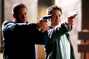 Val Kilmer y Robert Downey Jr., en 'Kiss Kiss Bang Bang'