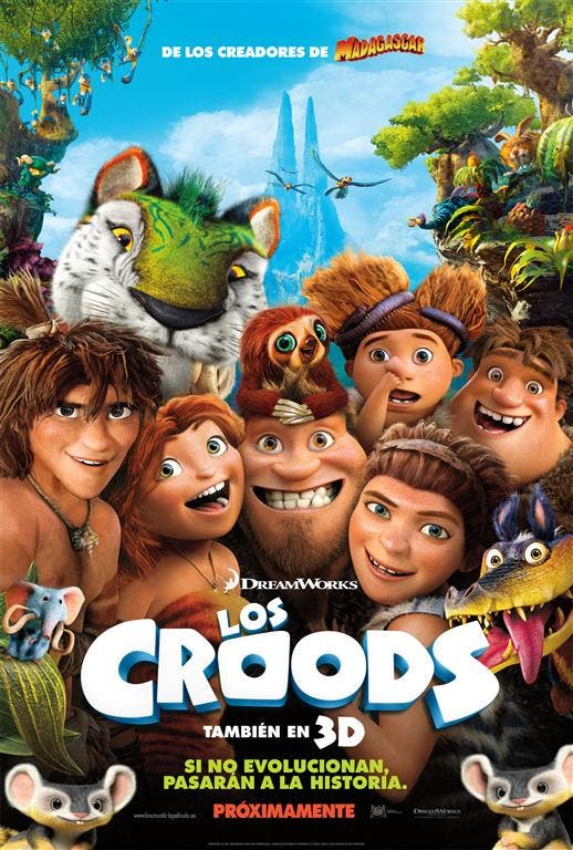 LOS CROODS POSTER DEFINITIVO Medium Concurso: LOS CROODS