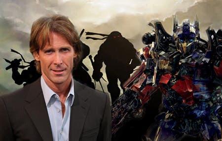 Michael Bay habla de Ninja Turtles y del aspecto de los robots en Transformers 4