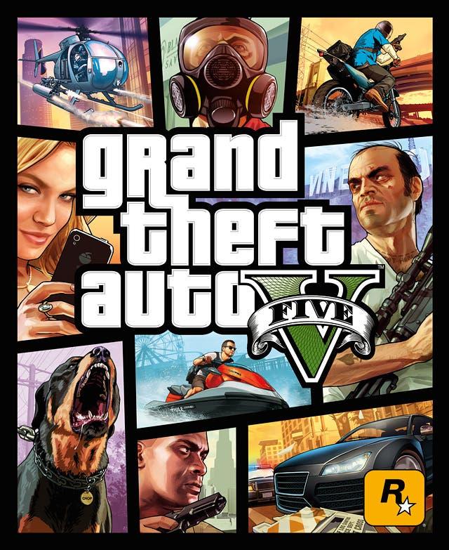 Portada oficial Grand Theft Auto V