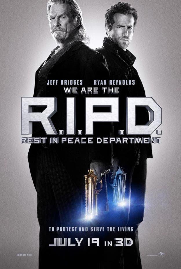 Póster de R.I.P.D. (Departamento de policía mortal)