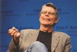 Stephen King, en una foto sacada de su web oficial (copyright: JFK Library)