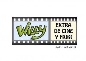 Logo de 'Willy, extra de cine y friki' Tira cómica
