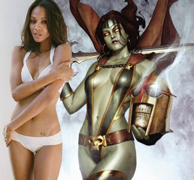 Zoe Saldana podría ser Gamora