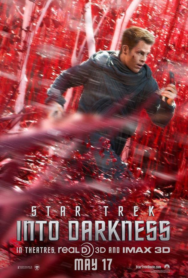 Nuevo poster con Chris Pine en Star Trek: en la oscuridad