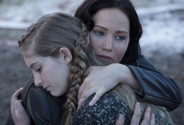 Jennifer Lawrence en Los Juegos del hambre en llamas