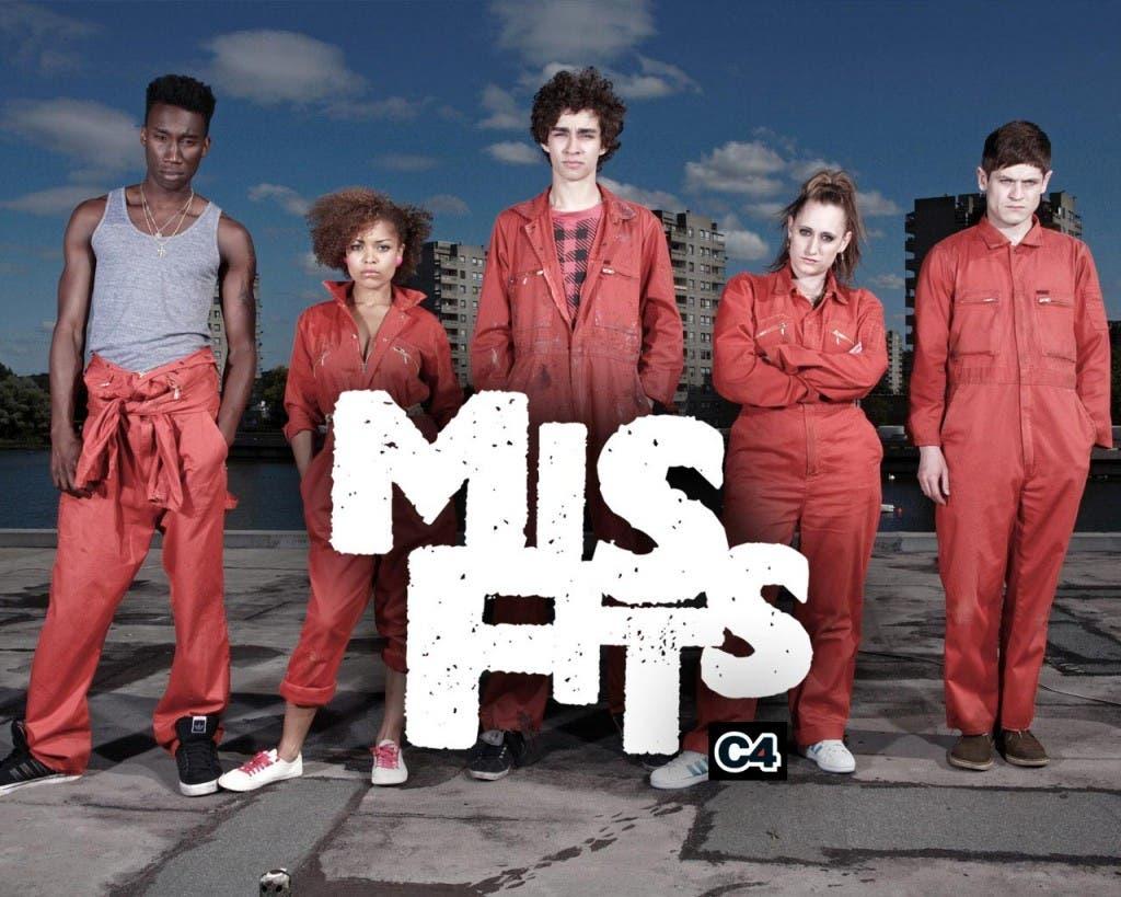 Reparto inicial de 'Misfits'