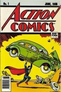 Número 1 Action Comics Superman
