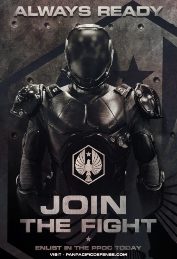 Poster Join the Fight. Pacific Rim