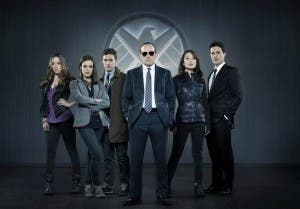 Coulson y el resto de protagonistas de 'SHIELD'