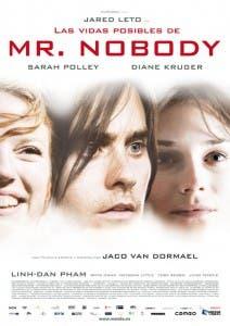 Cartel de 'Las vidas posibles de Mr. Nobody'