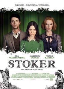 Cartel español de 'Stoker'