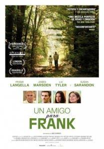 Cartel de 'Un amigo para Frank'