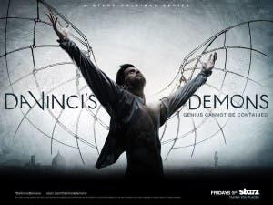Wallpaper oficial de la serie 'Da Vinci's Demons'
