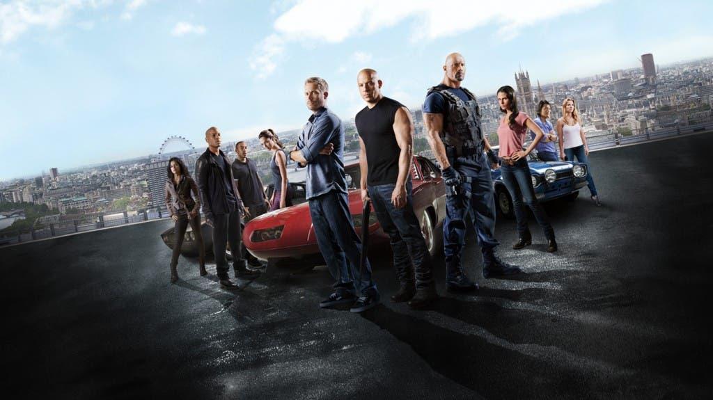 Los protagonistas de 'Fast and furious 6'
