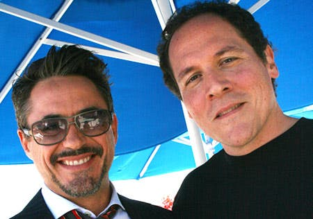 Robert Downey Jr y Jon Favreau