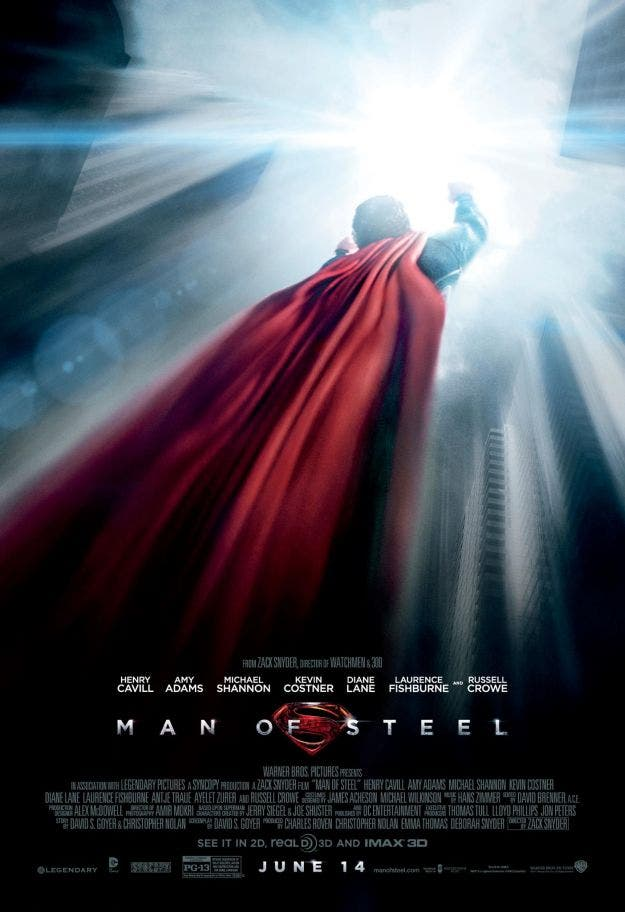 Poster de MAN OF STEEL