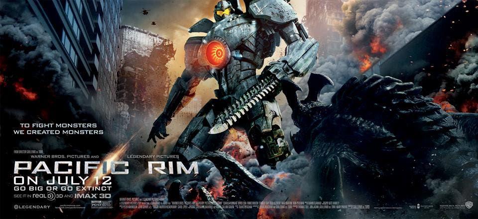 Pacific rim nuevo poster