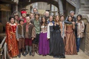 El reparto de 'Águila Roja', en la presentación de la quinta temporada