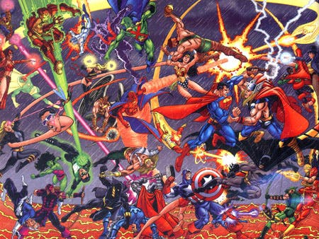 Marvel vs Liga de la Justicia