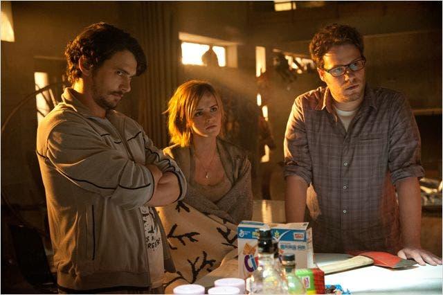 James Franco, Emma Watson y Set Rogen en Juerga hasta el fin