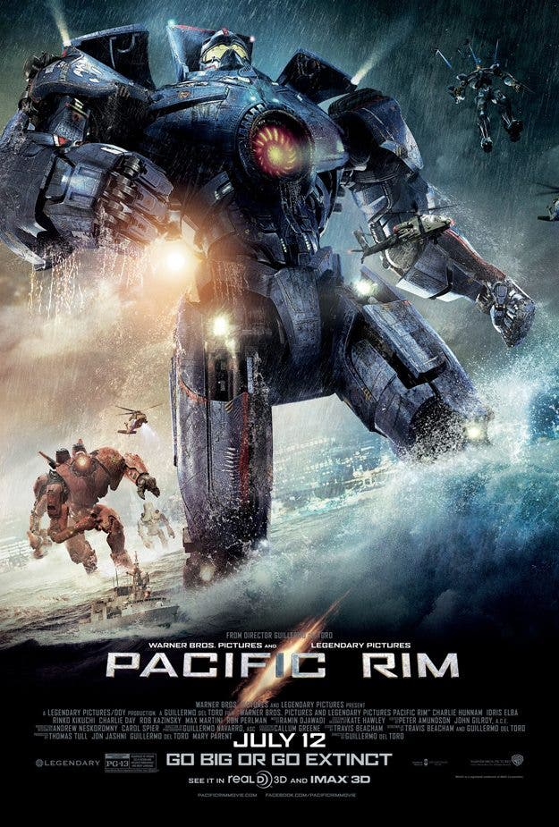 Póster Jaeger Assemble de Pacific Rim