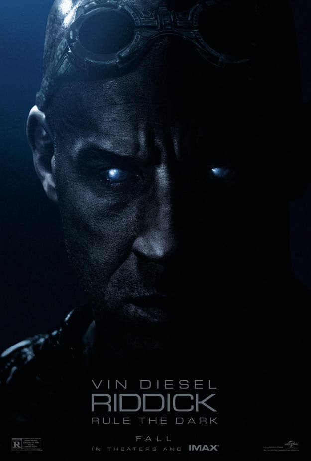 Nuevo póster de Riddick