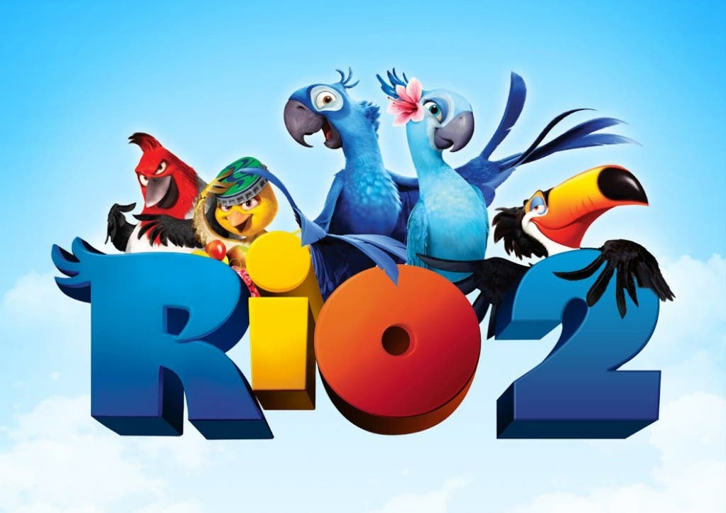 Los personajes de RIO 2