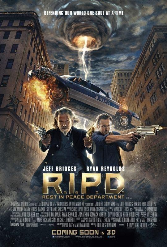Poster de R.I.P.D. Departamento de policía mortal