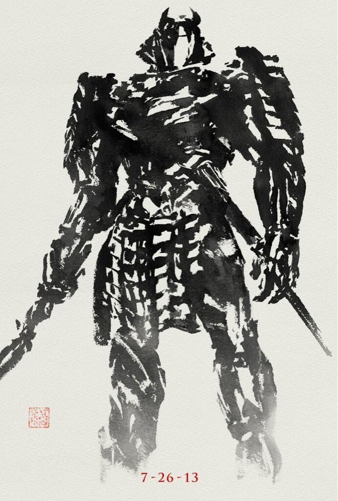 Poster de The Wolverine. Silver Samurai.