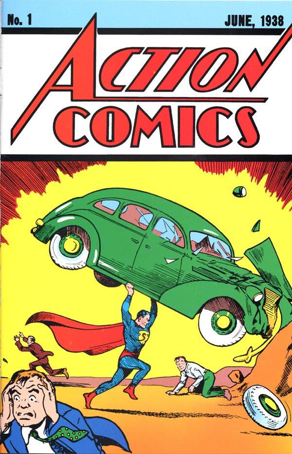 Portada Action Comics nº 1