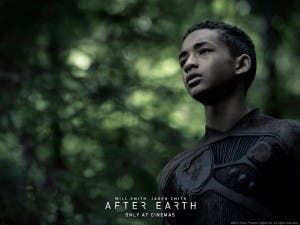 Jaden Smith, en un wallpaper oficial de 'After Earth'
