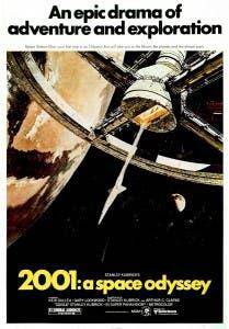 Cartel de '2001: Una odisea del espacio'