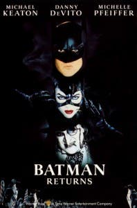 Cartel de 'Batman Returns'