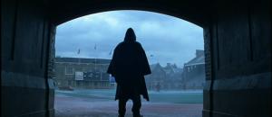 Bruce Willis, de espaldas, en 'El protegido'