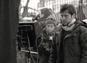 Kike Maíllo, en el rodaje de 'EVA' (foto: Escac)