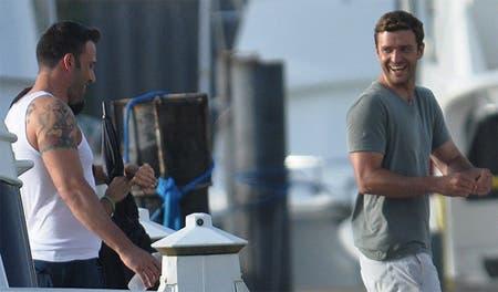 Justin Timberlake y Ben Affleck Runner Runner