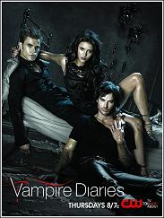 Cartel de 'Crónicas vampíricas' ('The Vampire Diaries')