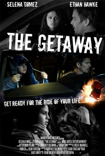 Getaway con Ethan Hawke y Selena Gomez