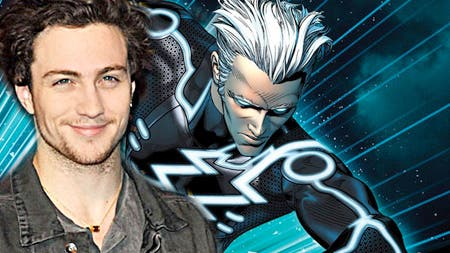 Aaron Johnson Quicksilver