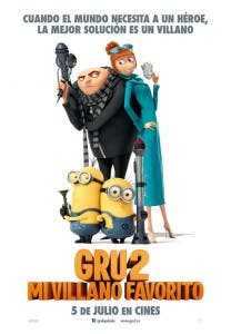 Cartel español de 'Gru 2. Mi villano favorito'