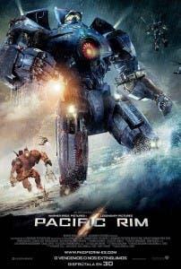 Cartel del filme 'Pacific Rim'