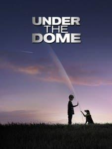Uno de los carteles promocionales de la adaptación de 'La cúpula'