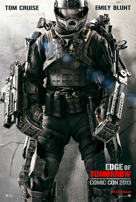 Poster EDGE OF TOMORROW (Al filo del mañana)