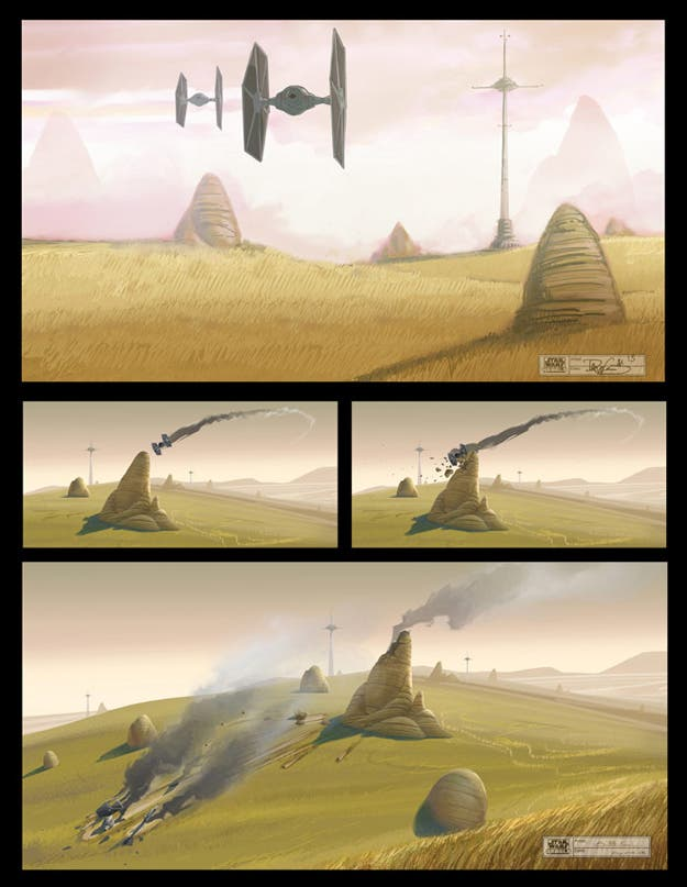 Concept art de Star Wars Rebels