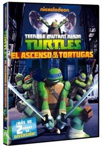el ascenso de las tortugas ninja DVD