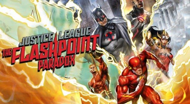 La Liga de la Justicia: La paradoja del tiempo | 7 películas de animación de DC Comics que debes ver
