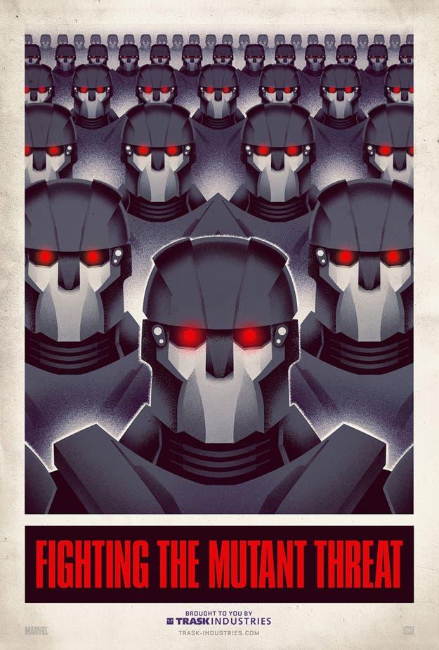 Poster viral de X-men: Días del Pasado futuro pasado