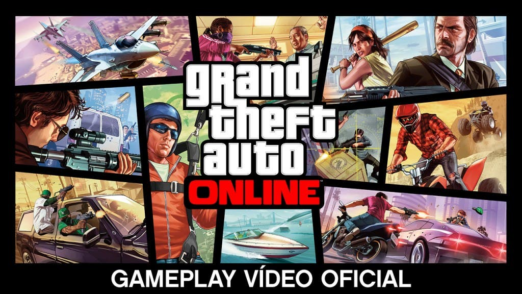 GRAND THEFT AUTO ONLINE: GAMEPLAY VÍDEO OFICIAL