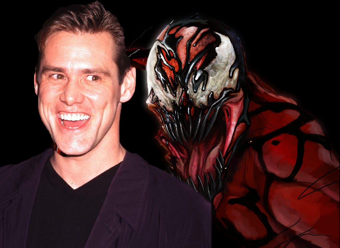 Jim Carrey podría ser Matanza en The amazing Spider-man 2